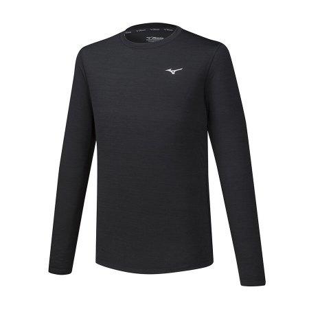 koszulka Mizuno Impulse Core Tee LS czarna | J2GA752009 (1)