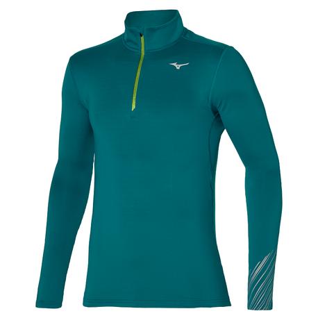 Bluza Mizuno WarmaLite HZ zielona | J2GC151138 (1)