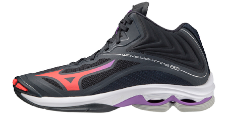 Buty do siatkówki damskie Mizuno Wave Lightning Z6 MID | V1GC200566 (1)