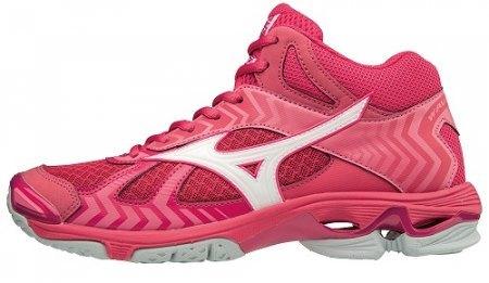 Buty do siatkówki Mizuno Bolt 7 MID damskie | V1GC186561 (1)