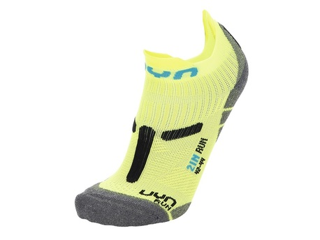 skarpety UYN Run 2IN Socks yellow fluo/black (1)