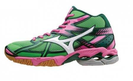 Buty do siatkówki damskie Mizuno Bolt 4 MID  (1)