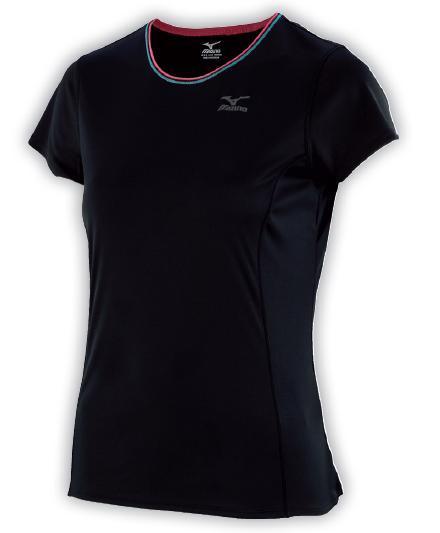 koszulka Mizuno Active Tee czarna (1)