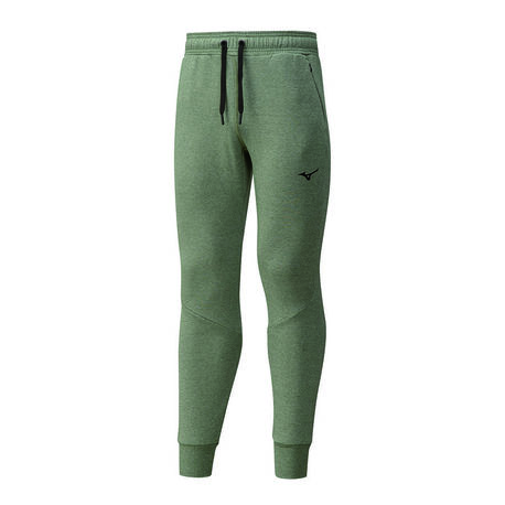 Spodnie Mizuno Athletic Rib Pant męskie khaki | K2GD050131 (1)