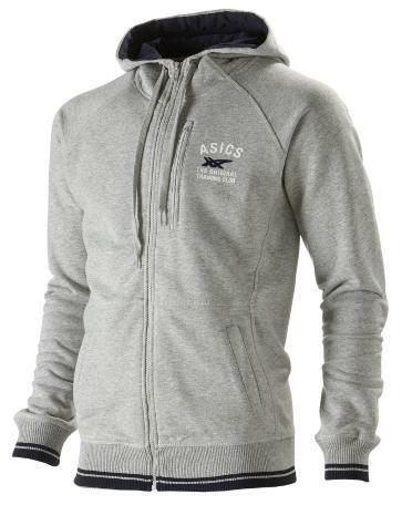 bluza Asics Full Zip Hoodie szara | 110404-0714 (1)