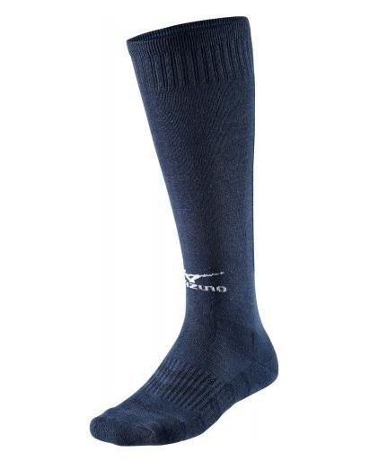 skarpety Mizuno siatkarskie Comfort Volley Socks Long NAVY (1)