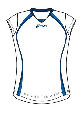 koszulka siatkarska Asics GAME damska (1)