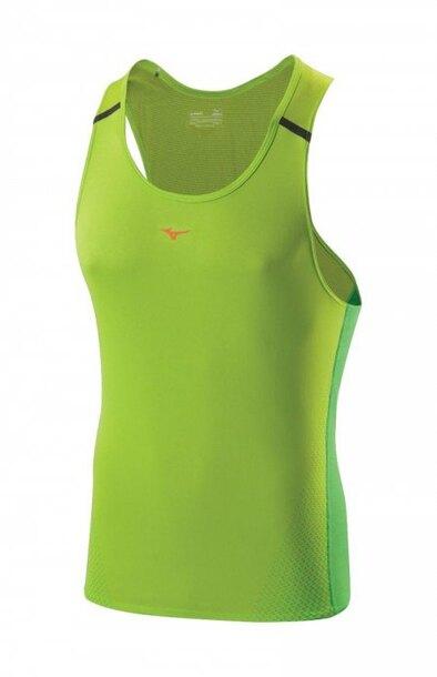 koszulka Mizuno DryLite Cooltouch Singlet zielona | J2GA500437 (1)
