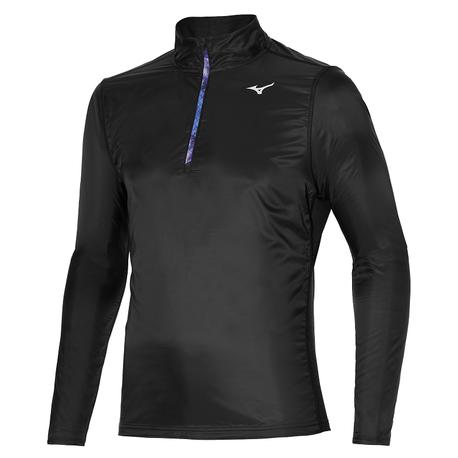 Bluza Mizuno Hybrid LS HZ czarna | J2GC152509 (1)