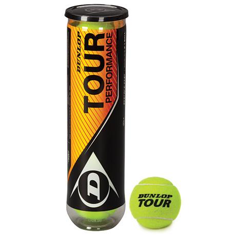 piłki tenisowe Dunlop Tour Performance 4 szt. (1)