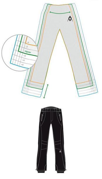 spodnie Volkl Fitting męskie (1)