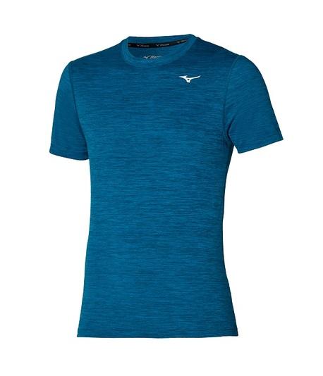 Koszulka Mizuno Impulse Core Tee niebieska   J2GA751924 (1)