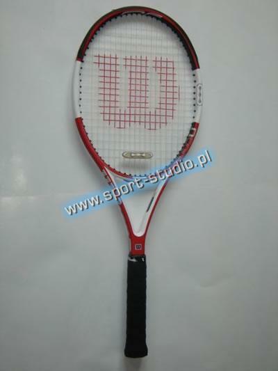 rakieta tenisowa-testowa Wilson N Six-One Team (1)