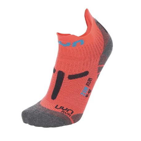 skarpety UYN Run 2IN Socks Coral/grey   S100224P392 (1)