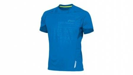 koszulka Asics SS Graphic Tee niebieska   331224-8038 (1)