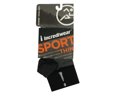 Skarpety sportowe Incrediwear THIN (za kostkę) (1)
