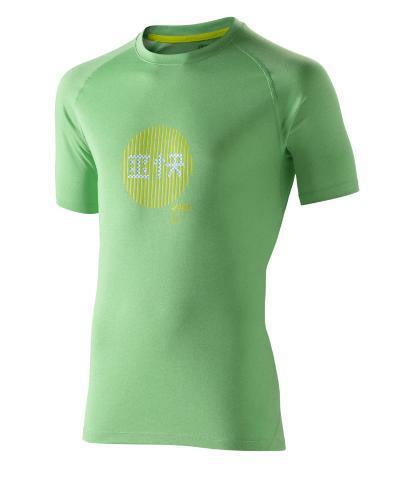koszulka Asics Soukai Graphic Top zielona | 110519-0489 (1)
