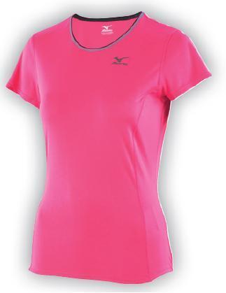 koszulka Mizuno Active Tee damska różowa (1)