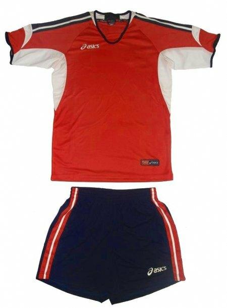 komplet siatkarski Asics Set Nazionale czerwony (1)