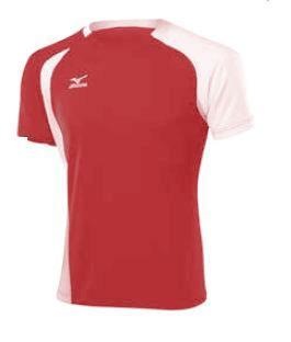 koszulka Mizuno Trad 351 czerwona (1)