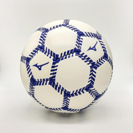 piłka nożna Mizuno Hokkaido TBall white/royal (1)