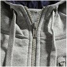 bluza Asics Full Zip Hoodie szara | 110404-0714 (3)