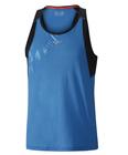koszulka Mizuno Alpha Vent Signet niebieska | J2GA801223 (1)